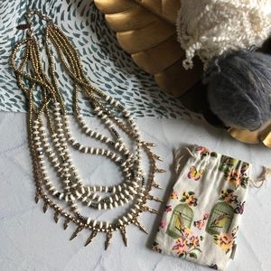Plunder Multi-strand Arrowhead Necklace Posse Only